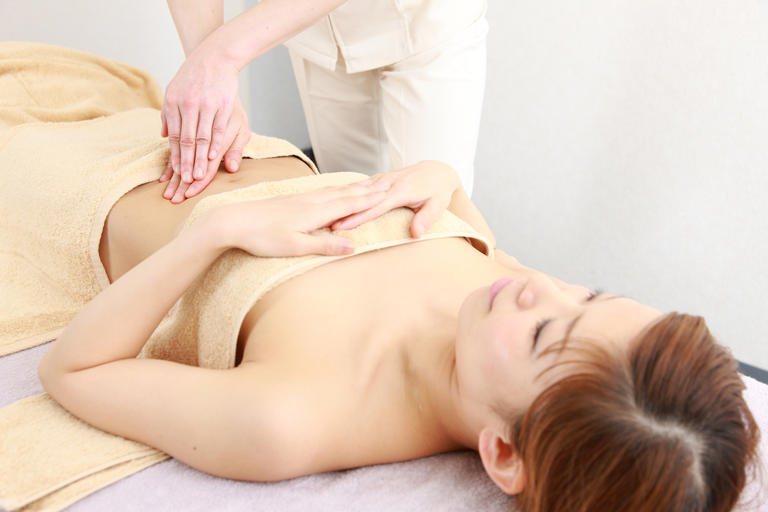 Abdomen-Massage