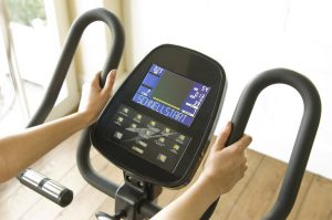 Ergometer-Display