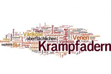 Krampfadern - Mind Map