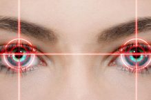 Laserchirurgie am Auge